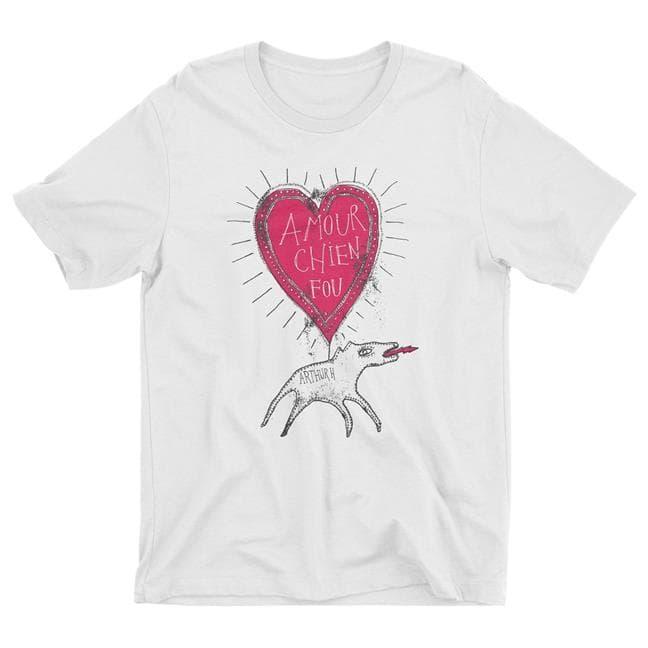 Homme - T-Shirt Chien Fou